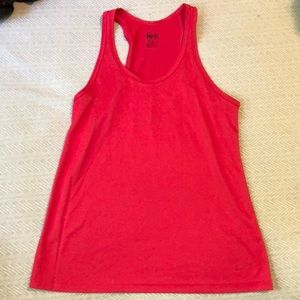Nike Dri-fit Red Racer Back Workout Tank